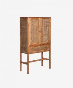 Beltana 2 Doors 1 Drawer Tall Cabinet -