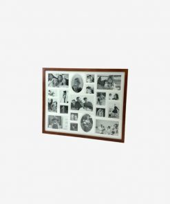 20x16 inch frame in19p chocolate