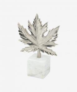 Aluimnum Leaf On Marble Base