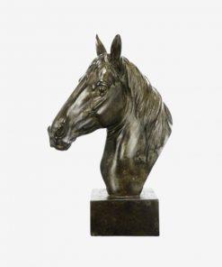 40CM Equine Sculpture On Base